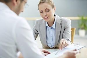 Jobcenter: Ein psychologischer Test zeigt, welcher Beruf für einen Arbeitslosen in Frage kommen kann.