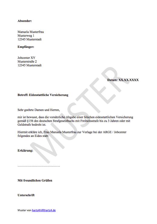 Hartz-4-Antrag: Muster für alle Belange   Hartz IV & ALG 2